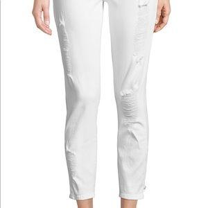 DL1961 distressed skinny boyfriend jeans